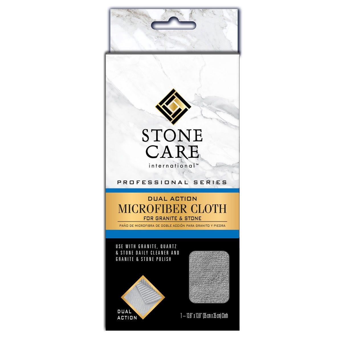 SCI Dual Action Microfiber Cloth for Granite & Stone